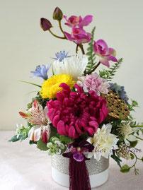 Yuka 優花(ゆうか)プリザーブドフラワーのお供えのお花