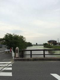 愛西市の鵜戸川