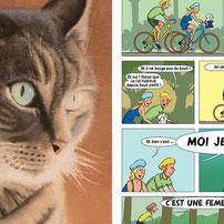 Bouton Graphisme dessin bande dessinee Chambery Savoie