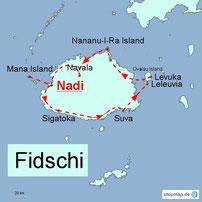 Bild: Rundreise durch die Fidschis