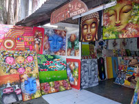 Bild: Hauptstraße von Ubud