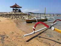 Bild: Strand von Sanur auf Bali