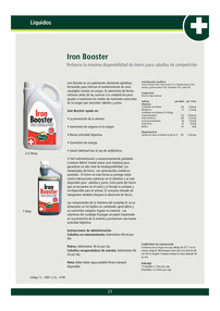 IRON BOOSTER
