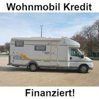 Wohnmobil Kredit Finanzierung - Wohnwagen günstig finanzieren