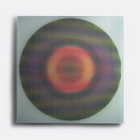 Solaris IV. | silk printed, laminated glass | 50 x 50 cm | 2014 | ●