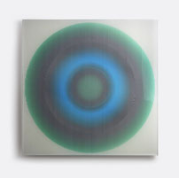 Solaris V. | silk printed, laminated glass | 50 x 50 cm | 2014