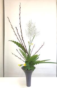 2018年12月2日 お稽古花「立花」