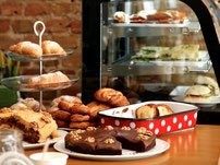 Espera offers homemade cakes & bread