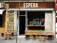 Cafe Espera at Sonnenallee in Neukölln