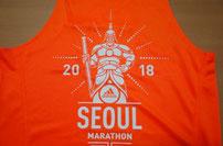 ソウルマラソン2018タンクトップ