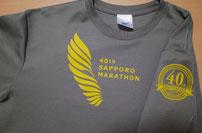 札幌マラソン2015Tシャツ