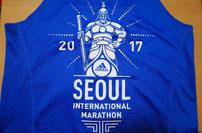 ソウルマラソン2017タンクトップ