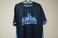 クアラルンプールマラソン2021バーチャルランTシャツ