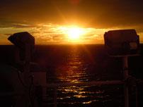 Sonnenuntergang auf Ostsee