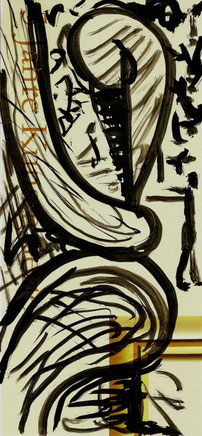 KAUFHAUS 2009 Tusche über Offset  21,5 x 10,5 cm