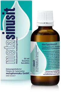 metasinusit - bei akuten und chronischen Entzündungen der Nasennebenhöhlen (Sinusitis)