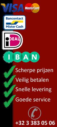 Visa Bancontact Mister Cach Ideal Iban