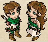 Druiden-/ Druidinnenkleidung