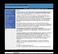 Grafik: Webscreen / Preview PRESSEMITTEILUNG.WS - Pressemeldung der Gemeinschaftspraxis CHIRURGIE FLENSBURG NORD