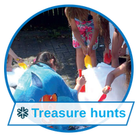 Fun events with treasure huntes