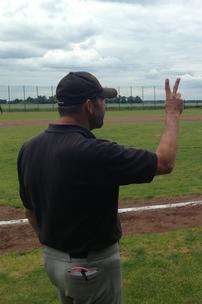 Kommunikation - bei Coach Thomas Kreuz die wichtigste Voraussetzung für aggressives Baserunning.