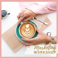 Im Marketing Workshop erlernst Du die Grundlagen für Dein Business. Das vier P oder C Konzept und welche Kommunikationskanäle zu deinem Unternehmen passen. Ist es Instagram, Facebook oder die Printmedien? Wir finden es heraus und starten Deine Werbung.