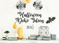 Bild: DIY Halloween Dekoration basteln - finde Ideen für die Halloween Party zum selber machen vom Kreativblog www.partystories.de