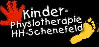 Grafik: Logo der PTS Physiotherapie, Schwerpunkt Kinderphysiotherapie, in Hamburg Schenefeld