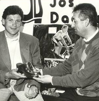 1992 - Kampioen van België op de kwart en halve afstand triathlon, leverde Kris Mariën de 5de trofee Gouden Klomp op.