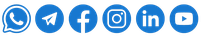 WhatsApp, Telegram, Facebook, Instagram, LinkedIn, YouTube, TripAdvisor
