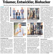 Artikel Vorarlberger Nachrichten Minimalist Biohacker