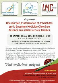 LMC FRANCE HOPITAL SAINT ST LOUIS PARIS Dr Cayuela Directeur laboratoire central hématologie DELPHINE REA VISITE