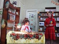 """Представление """"Цветик-семицветик и детская библиотека №7"""""""
