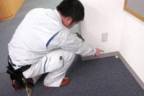 防火対象物定期点検の対象となる不燃性・難燃性の防火・防炎カーペット