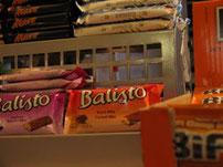 Süßigkeiten Knabbereien
