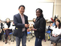 African students in Japan enjoy community activities