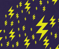 Lightning Bolts, vinyl stickers