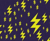 Lightning Bolts, vinyl stickers