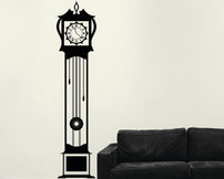 Grandfather Clock, Wall Art Sticker