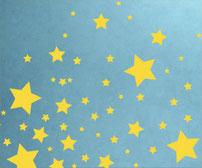 Stars, vinyl art