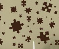 Puzzle, vinyl stickers