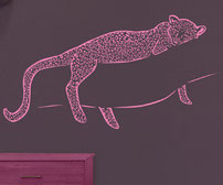 Leopard Vinyl Wall Sticker