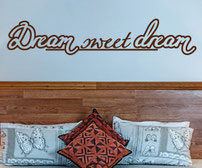 Dream sweet dream vinyl sticker
