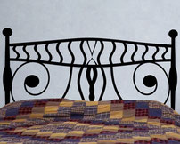 Tribal Headboard, Vinyl Sticker