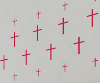 Skinny Crosses, vinyl decals