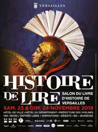 Salon Histoire de Lire - Versailles