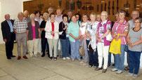 Die Aster Senioren staunten, was das Museum alles bietet.