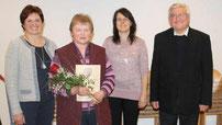 Elisabeth Liegl wurde für 40 Jahre Mitgliedschaft geehrt.