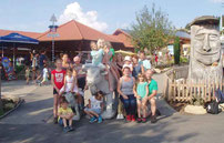 Im Erlebnispark St. Englmar amüsierten sich die Kinder.