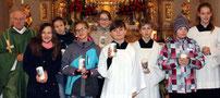 Sieben Jugendliche aus der Pfarrei Ast haben heuer Firmung.